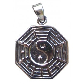 "Anhänger ""Pakua I-Ging"" 3cm Silber 925 8"