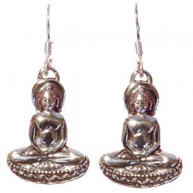 """Ohrhänger """"Buddha"""" Silber 925 4"""
