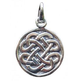 """Anhänger """"Keltischer Achtfachknoten"""" 2cm Silber 925 4"""