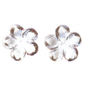 "Ohrstecker ""Champaca - Magnolia"" Silber 925 1"