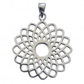 "Anhänger ""Sahasrara Lotus"" Silber 925 5"