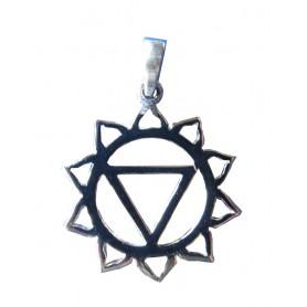 """Anhänger """"Manipuram Chakra"""" Silber 925 1"""