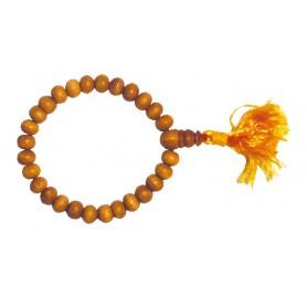 Buddha Tikra Sandelholz 27 Perlen