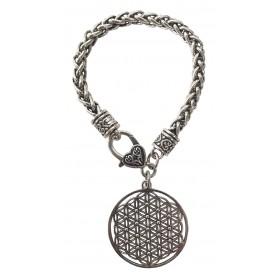 """Armband """"Blume des Lebens"""" Metall Armband 20cm"""