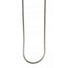 """Kette """"geflochten"""" 50cm Silber 925 3"""