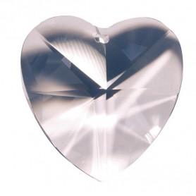 Kristall Herz 40mm