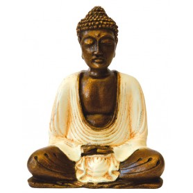 """Buddha meditierend"" Resin 15cm"