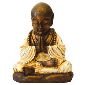 """""""Shaolin Mönch"""" betend Resin 15cm"""