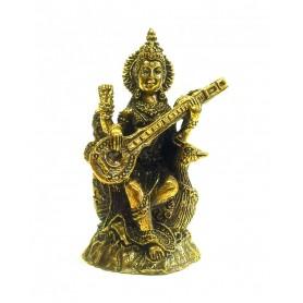 Saraswati Messing 4x5cm