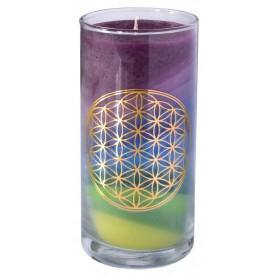"""Kerze """"Earth BDL"""" im Glas Stearin 14cm"""