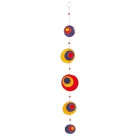 """Suncatcher """"Peacock"""" Fiberglas bunt 60cm"""