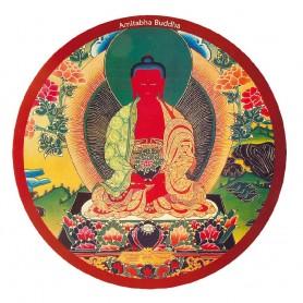 """Mousepad """"Buddha Amithaba"""" rund 23cm"""
