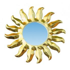 """Spiegel """"Sonne"""" gold 20cm"""