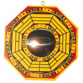 Chines. Bagua-Spiegel konkav 15cm