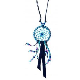 """Traumfänger Halskette """"Mandala"""" blau"""
