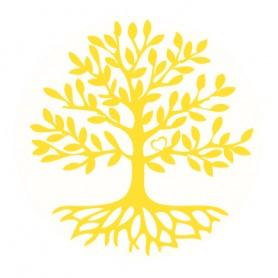 "Aufkleber ""Baum des Lebens"" 1x7"