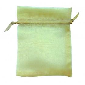 Organza Säckchen goldfarben 9x12cm