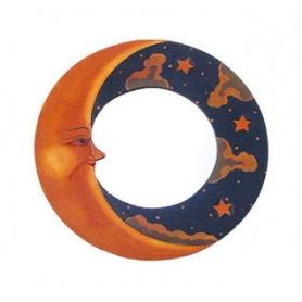 """Spiegel """"Mond"""" antik 40cm"""