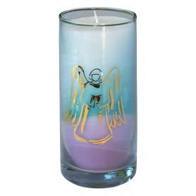 """Kerze """"Sea Engel"""" im Glas Stearin 14cm"""