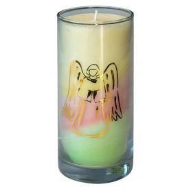 """Kerze """"Dream Engel"""" im Glas Stearin 14cm"""