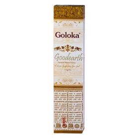 """Goloka Incense """"Good Earth"""" 15gr."""