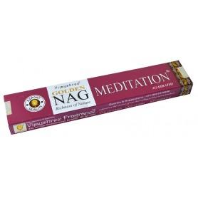 """Vijayshree Incense """"Golden Nag Meditation"""" 15gr."""