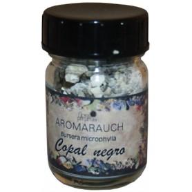 Räucherstoff Schwarzer Copal 50ml Glas