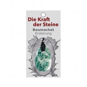 Kraftstein-Anhänger Baumachat (Stabilität)