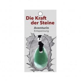 Kraftstein-Anhänger Aventurin (Entspannung)