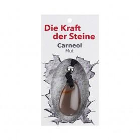 Kraftstein-Anhänger Carneol (Mut)