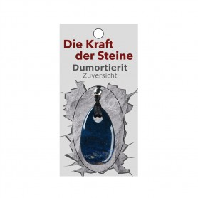 Kraftstein-Anhänger Dumortierit (Zuversicht)