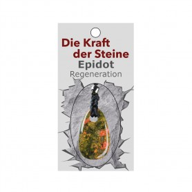 Kraftstein-Anhänger Epidot (Regeneration)