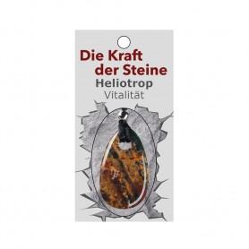 Kraftstein-Anhänger Heliotrop (Vitalisierung)