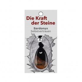 Kraftstein-Anhänger Sardonyx (Selbstvertrauen)