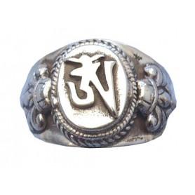 """Ring """"Om"""" Silber 925 6"""