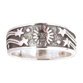 """Ring """"Sonne"""" Silber 925 5"""