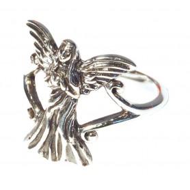 """Ring """"Engel mit Herz"""" Silber 925 4"""