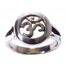 """Ring """"Om"""" Silber 925 5"""