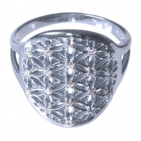 "Ring ""Blume des Lebens"" Silber 925 2"