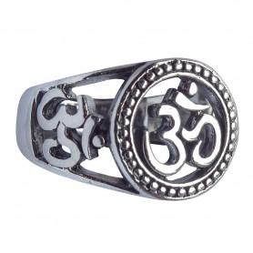 """Ring """"Om"""" Silber 925 7"""