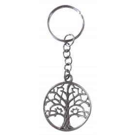 """Schlüsselanhänger """"Baum des Lebens"""" Messing verzinnt"""