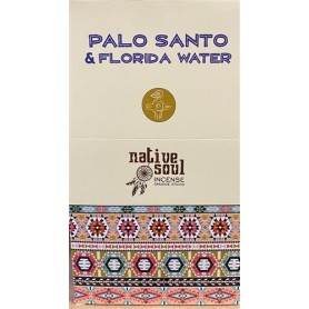 "Green Tree Native Soul Incense ""Palo Santo & Florida Water"" 15gr."