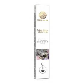 "Fleur de Vie ""Salvia Apiana White Sage"" Premium Incense Sticks 16gr"
