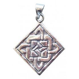 """Anhänger """"Keltischer Vierfachknoten"""" 2cm Silber 925 2"""