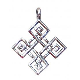 "Anhänger ""Keltischer Vierfachknoten"" Silber 925 3"