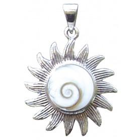 """Anhänger """"Shivas Auge Sonne"""" 2cm"""