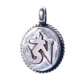 "Anhänger ""Tibetisches Om"" Silber 925 3"