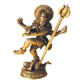 Shiva tanzend Messing 4cm