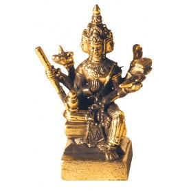 Brahma sitzend Messing 3cm