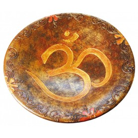 "Terracotta Schale ""Om"" 19cm"